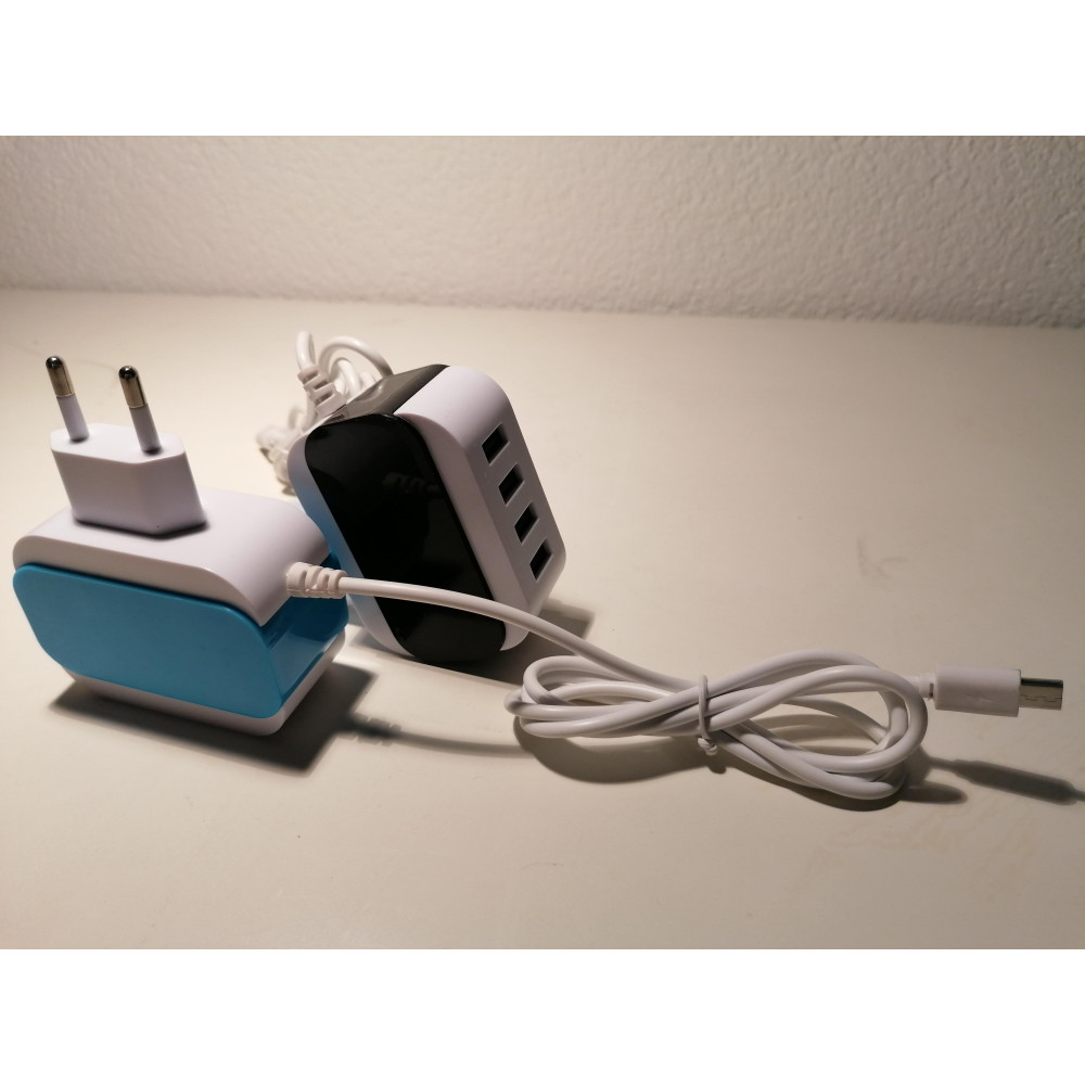 usb 4 port charger(choose iphone, samsung or type c )