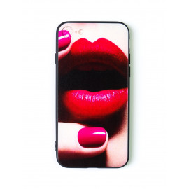 iPhone 7 design cover with lips