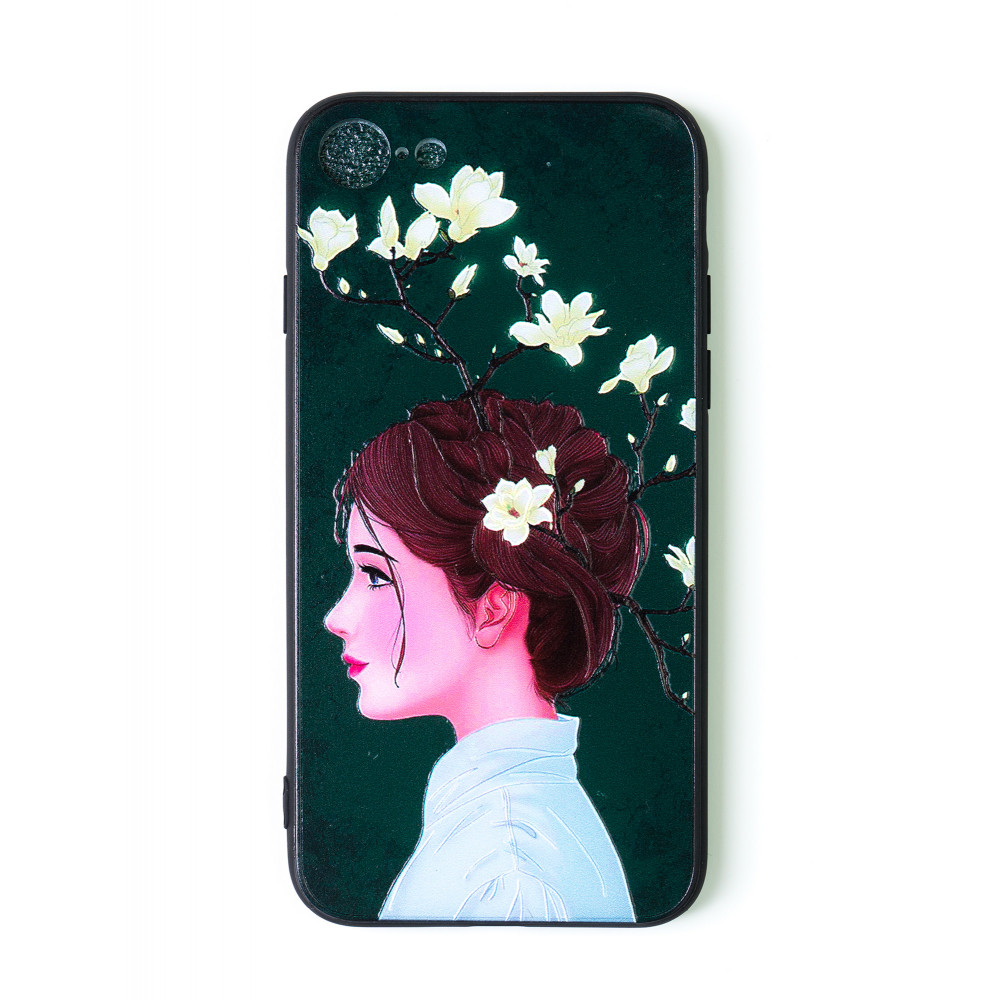 iPhone 7 design cover with girl