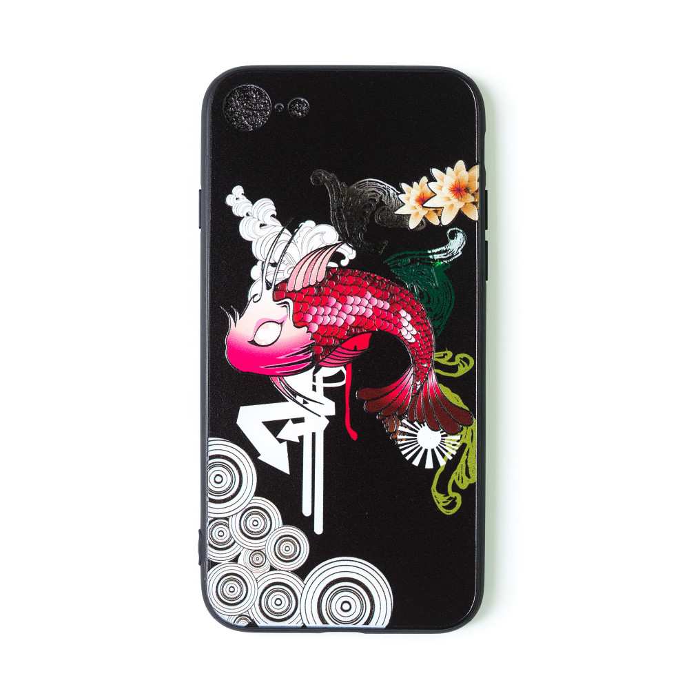 iPhone 7 design cover with fish